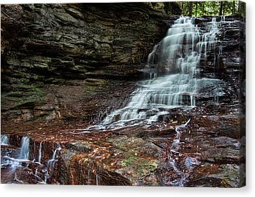 Honey Run Falls Canvas Print
