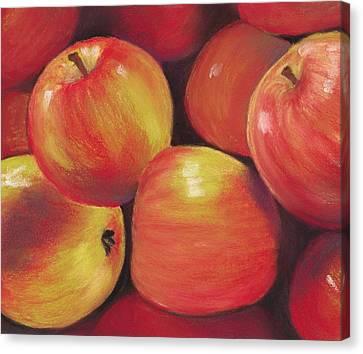 Anastasiya Canvas Print - Honeycrisp Apples by Anastasiya Malakhova