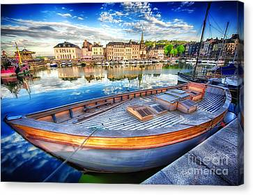 Honfleur At Rest Canvas Print