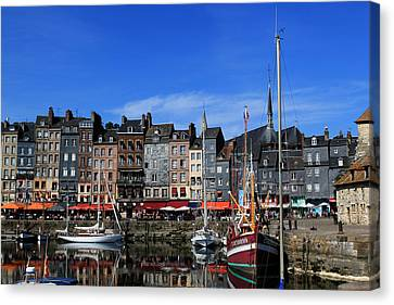 Honfleur France Canvas Print