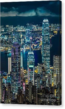 Hong Kong 07 Canvas Print by Tom Uhlenberg