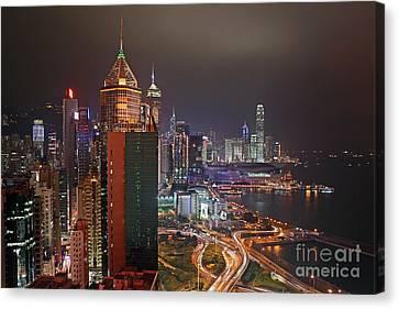 Hong Kong Island Canvas Print by Lars Ruecker