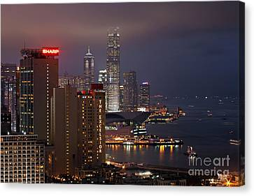 Haus Canvas Print - Hong Kong by Lars Ruecker