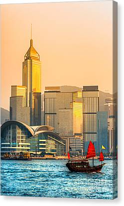 Hong Kong. Canvas Print