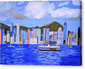 Hong Kong Canvas Print by Magdalena Frohnsdorff