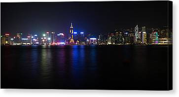 Hong Kong Waterfront Canvas Print