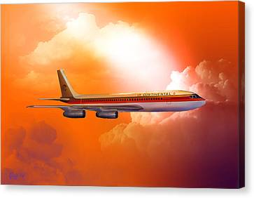 Honolulu Bound 1977 Canvas Print