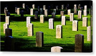 Honor The Fallen Canvas Print by Benjamin Yeager