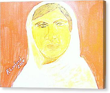 Honoring Malala Yousafzi's Nobel Peace Prize - Shot By Taliban For Championing Schooling For Girls 2 Canvas Print by Richard W Linford