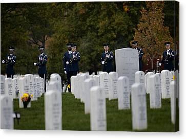 Honoring The Fallen Canvas Print