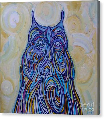 Hoo Are You? Canvas Print by Michael Ciccotello