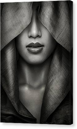 Fabric Canvas Print - Hood by Azalaka