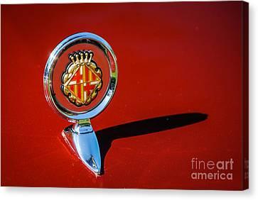 Hood Ornament On Matador Barcelona II Coupe Canvas Print