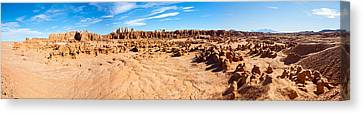 Hoodoo Formations, Goblin Valley Canvas Print by Panoramic Images