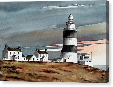 Hook Lighthouse Wexford Canvas Print
