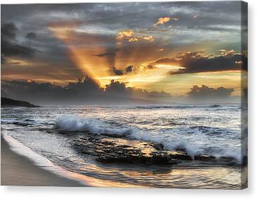 Ho'okipa Sunset Canvas Print
