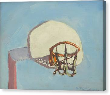 Hoop Dreams Canvas Print