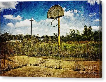 Hoop Dreams Canvas Print by Scott Pellegrin