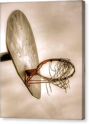 Hoop Canvas Print by Steve Ratliff