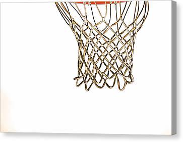 Hoops Anyone Canvas Print by Karol Livote