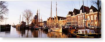 Port Town Canvas Print - Hoorn, Holland, Netherlands by Panoramic Images
