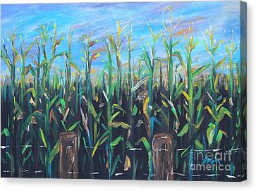 Hoosier View Canvas Print