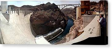 Hoover Dam 1 Canvas Print by Russell Smidt