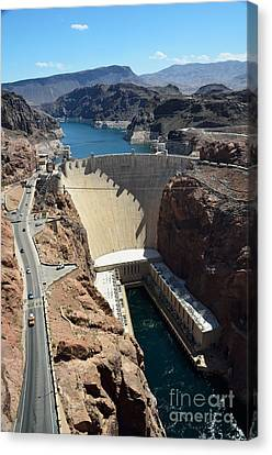 Hoover Dam Canvas Print by RicardMN Photography