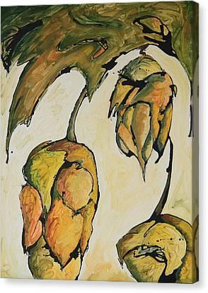 Hop Harvest Canvas Print by Alexandra Ortiz de Fargher