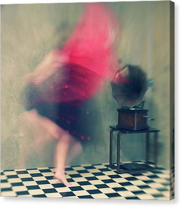 Ghost Canvas Print - Hop Skip And Jump by Mel Brackstone