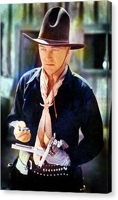 Hopalong Cassidy Canvas Print