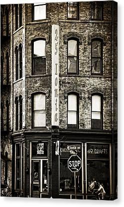 Hopcat Grand Rapids Michigan Canvas Print by Dan Sproul