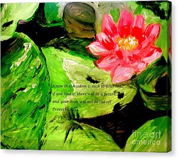 Hope Canvas Print by Amanda Dinan