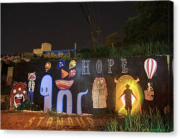 Hope Canvas Print by Andrew Nourse