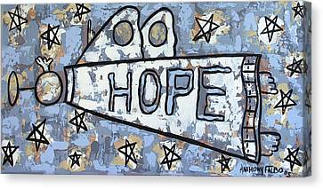 Hope Canvas Print by Anthony Falbo
