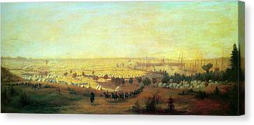 Hope Army Of The Potomac Canvas Print by Granger