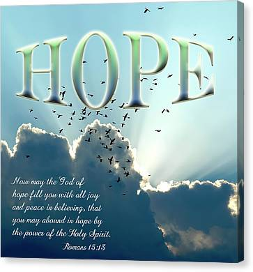 Hope Canvas Print by Carolyn Marshall