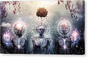 Hope For The Sound Awakening Canvas Print by Cameron Gray