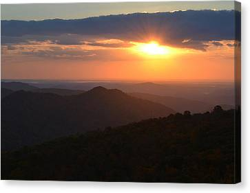 Canvas Print featuring the photograph Hope Is Like The Sun by Melanie Moraga