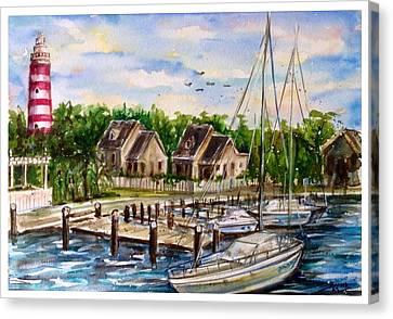 Hope Town Canvas Print