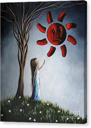 Hope You Feel Better Soon By Shawna Erback Canvas Print by Shawna Erback