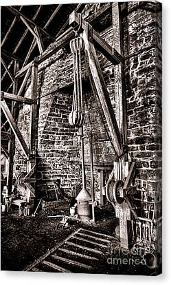 Hopewell Furnace Canvas Print by Olivier Le Queinec