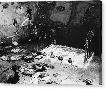 Hopi Altar, C1900 Canvas Print