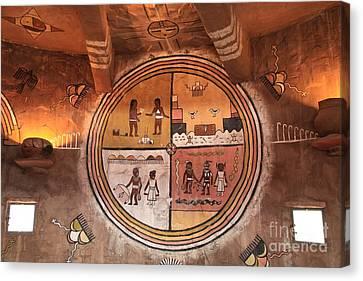 Hopi Art Canvas Print