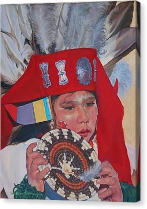 Hopi Basket Dancer Canvas Print