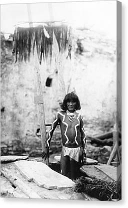 Hopi Man, 1897 Canvas Print