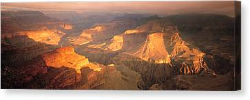 Hopi Point Canyon Grand Canyon National Canvas Print by Panoramic Images