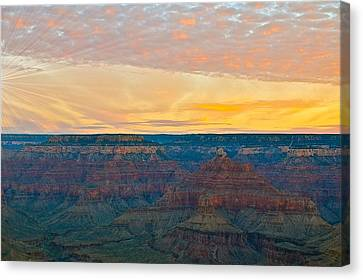 Hopi Point Grand Canyon Canvas Print by Matthew Heller
