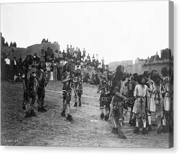 Hopi Snake Dance, 1921 Canvas Print