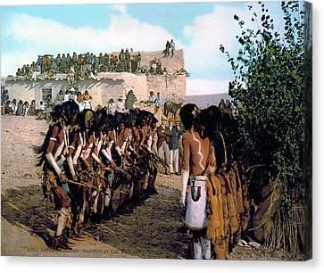 Hopi Snake Dance, C1902 Canvas Print by Granger